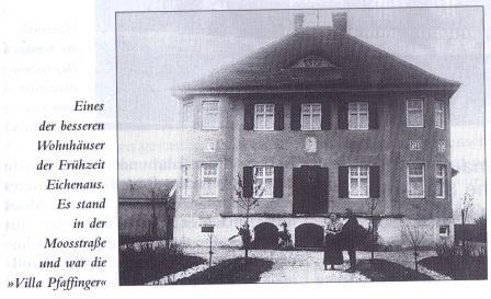 Chronik:  Villa Pfaffinger