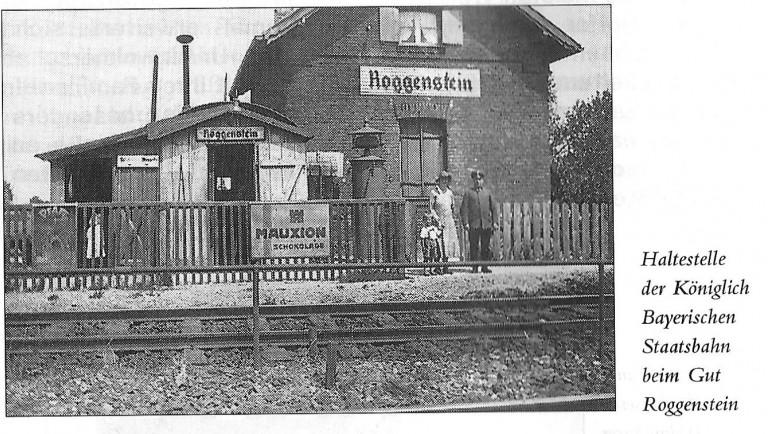 Chronik: Haltestelle Roggenstein