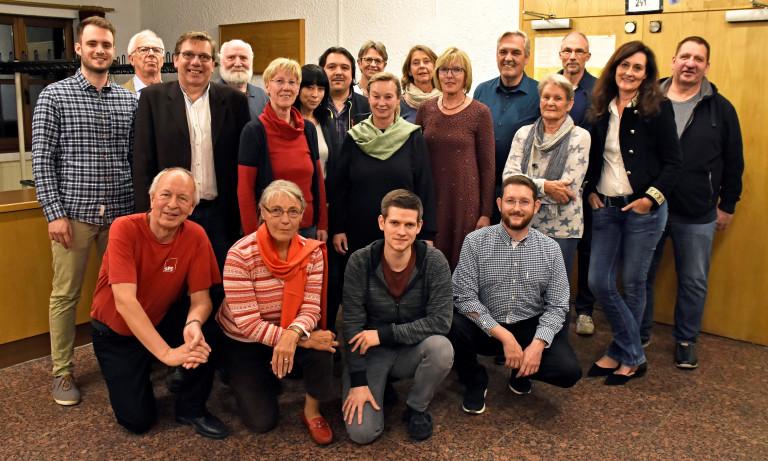 SPD Kandidaten/innen Gemeinderatswahl 2020